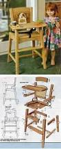 how to build a homemade high chair do it yourself mother earth