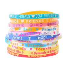 bracelet rubber images Neon best friends rubber bracelets claire 39 s us jpg