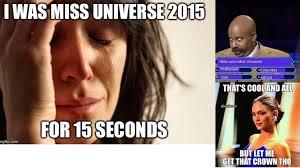 Miss Meme - funny miss universe 2015 meme youtube
