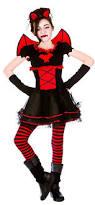 Harley Quinn Halloween Costume Kids Vamparina Girls Halloween Party Fancy Dress Kids Childs
