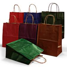 kraft shopping bags shop paper bags at paper mart