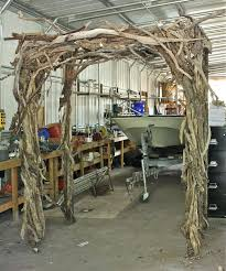 inspiring driftwood arbor perfect for a wedding and then would