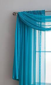 Premium Curtains Warm Home Designs Teal Window Scarves Sheer Teal Curtains 6