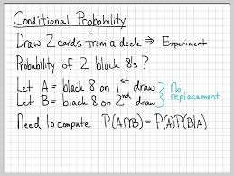 fundamentals of probability theory 3 12 conditional probability