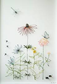 best 25 wire art ideas on pinterest diy gifts for friends natura morte thread art ulrika berge in wire