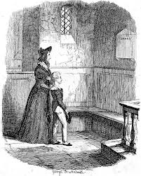 rose maylie and oliver or the church illustration