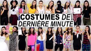 idees de costumes de derniere minute halloween 2015 youtube