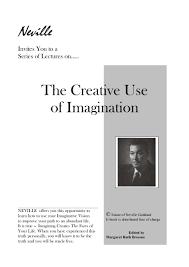 neville goddard creative use of imagination