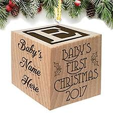 personalized baby christmas ornament baby s christmas ornament 2017 keepsake