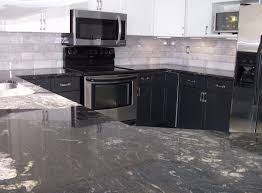two tone kitchen cabinets with black countertops two toned kitchen recolour crs renovations