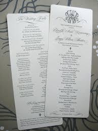 Custom Wedding Programs Alexa Pulitzer Custom Collections