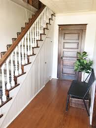 How To Sand Banister Spindles How To Paint Stair Spindles Junque Cottage