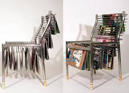 creative storage magazine hanger chair a creative storage item for your