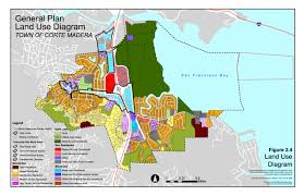 san francisco land use map corte madera general plans tamalpais magazine