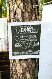candy buffet chalkboard sign candy bar chalkboard printed sign