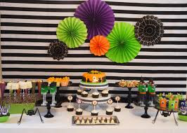 halloween party table ideas kids halloween party decorations