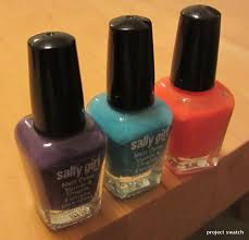 sally mini nail polish archives project swatch