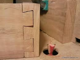 how to easy cut a dovetail joint both tails and pins in the