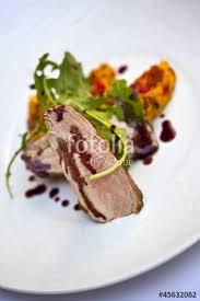 photo plat cuisine gastronomique cuisine aliment plat veau gastronomie plat cuisiné photo