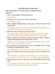 frankenstein study guide comprehension answers 100 images