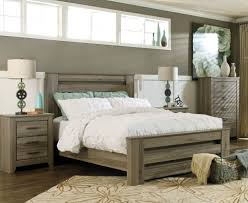 Rustic Bedroom Furniture Juararo Bedroom Furniture Zelen Rustic Grey Bed Bedding