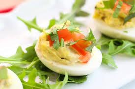 Egg Recipes For Dinner Easy Blt Deviled Eggs Recipe