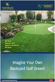 Diy Backyard Putting Green by Backyards Compact Diy Backyard Putting And Chipping Green 82