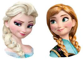anna from frozen hairstyle disney princess frozen anna elsa braid face edible icing