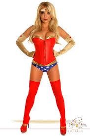 Superhero Halloween Costumes Women 4 Pc Superhero Costume Amiclubwear Costume Store