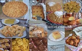 cuisine alg駻ienne gateaux gâteaux algériens et pâtisseries orientales pour ramadan 2018 le