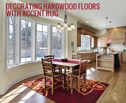 hardwood floors and rugs a match