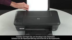 beheben von problemen beim papiereinzug hp deskjet 2050 all in