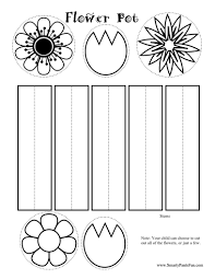 6 best images of spring craft activity printable printable