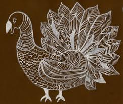 turkey drawings thanksgiving that artist woman turkey line drawing
