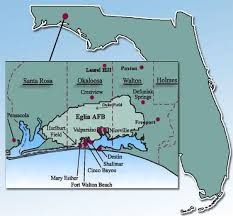 eglin afb map realtor eglin afb and surrounding areas