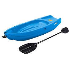 lifetime 6 u0027 1 man wave youth kayak with bonus paddle walmart com
