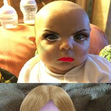 Make Meme App - so this is what happens when make up apps are used on babies by