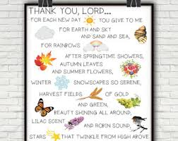 thank you prayer etsy