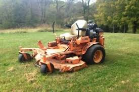 used commercial zero turn mowers ebay