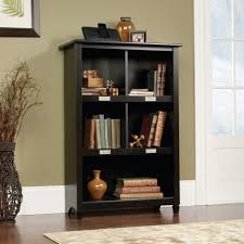 sauder 4 shelf bookcase amazon com sauder edge water bookcase estate black kitchen u0026 dining