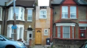 london u0027s narrowest house restored to garage youtube