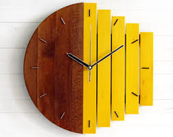 abstract clocks wooden inventions designed to inspire awesome gifts by paladim