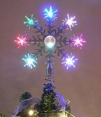 Star Christmas Tree Toppers Lighted - lighted christmas star tree toppers tree toppers christmas tree