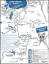 San Francisco Parking Permit Map by Snowshoeing U0026 Winter Hikes In Lake Tahoe Tahoe South
