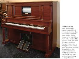 How Tall Is A Piano Bench Upright Cabinet Styles In American Piano Manufacturing 1880 U20131930
