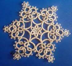 384 best tatting snowflakes images on tatting lace