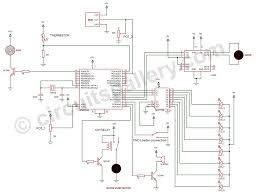 component simple burglar alarm circuit diagram security build