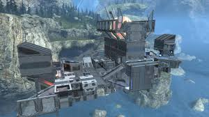 Custom Maps The Gaming Portfolio Of Joe Walsh Halo Reach Custom Map U0027serenity U0027