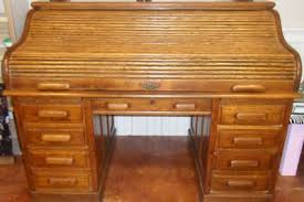 antique oak roll top desk antique price guide details page