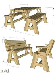 folding picnic table bench plans pdf convertible picnic table bench convertible picnic table bench free